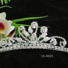 Opera Tiara;Bridesmaid Hair accessories ;Bridal Comb;Silver Teen Girl Comb ;Bride Tiara#9029