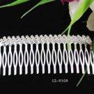 Opera Tiara;Bridesmaid Hair accessories ;Bridal Comb;Silver Teen Girl Comb ;Bride Tiara#9105