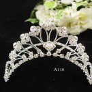 Opera Tiara;Bridesmaid Hair accessories ;Bridal Comb;Silver Teen Girl Comb ;Bride Tiara#110s