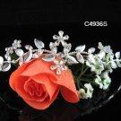 Opera Tiara;Bridesmaid Hair accessories ;Bridal Comb;Silver Teen Girl Comb ;Bride Tiara#4936s