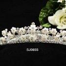 Opera Tiara;Bridesmaid Hair accessories ;Bridal Comb;Silver Teen Girl Comb ;Bride Tiara#655s