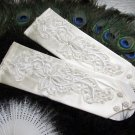 Occasion Gloves; Fashion Accessories;Finger-less Bridal Gloves;Wedding Bride Accessories#56w