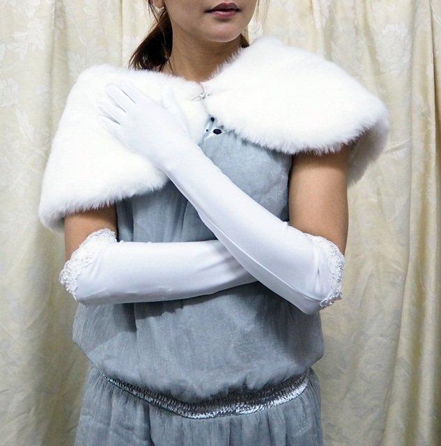 Long Gloves; Fashion Accessories;Floral lace matte Bridal Gloves;Wedding Bride Accessories#46w