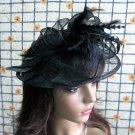 Bridesmaid Accessories;Wedding Hat; Opera Fascinator;Handmade Occasion Hat#20bk