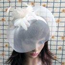 Bridesmaid Accessories;Wedding Hat; Opera Fascinator;Handmade Occasion Hat#21I