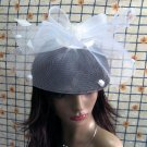 Bridesmaid Accessories;Wedding Hat; Opera Fascinator;Handmade Occasion Hat#22i