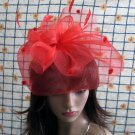 Bridesmaid Accessories;Wedding Hat; Opera Fascinator;Handmade Occasion Hat#22r