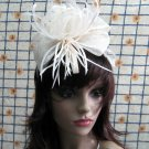 Bridesmaid Accessories;Wedding Hat; Opera Fascinator;Handmade Occasion Hat#23i