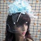 Bridesmaid Accessories;Wedding Hat; Opera Fascinator;Handmade Occasion Hat#25