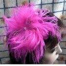Bridesmaid Accessories;Wedding Hat; Opera Fascinator;Handmade Occasion Hat#19