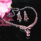 Fancy Wedding Choker sets ;Bridal Tiara;Bridesmaid accessories;Bride Necklace set#1593r