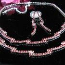 Fancy red Wedding Choker set ;Bridal Tiara;Bridesmaid accessories;Bride Necklace set#2373r