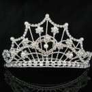 Opera Tiara;Bridesmaid Hair accessories;Bridal Comb; Silver Teen Girl Comb ;Bride Tiara#2024