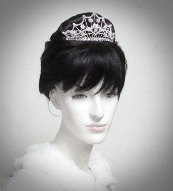 Opera Tiara;Bridesmaid Hair accessories;Bridal Comb; Silver Teen Girl Comb ;Bride Tiara#2025