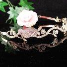 Golden Vine Wedding Headband;Opera Tiara;Bridesmaid Hair accessories;Bridal Comb;Teen Girl Comb#572g
