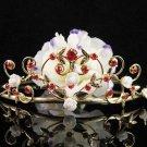 Golden Wedding Headband;Opera Tiara;Bridesmaid Hair accessories;Bridal Comb;Teen Girl Comb#1395r