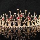 Golden Wedding Headband;Opera Tiara;Bridesmaid Hair accessories;Bridal Bride Hair band#6176g