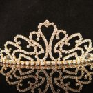 Huge Golden Wedding Headpiece ;Opera Dancer Tiara;Bridesmaid Hair accessories#8520g