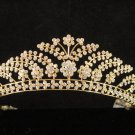 Glamour Golden Wedding Headpiece ;Opera Dancer Tiara;Bridesmaid Hair accessories#783g