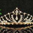 Sweetheart Golden Wedding Headpiece ;Opera Dancer Tiara;Bridesmaid Hair accessories#960g