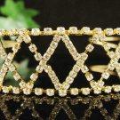 Fancy Golden Wedding Headband ;Opera Dancer Tiara;Bridesmaid Hair accessories#1446g