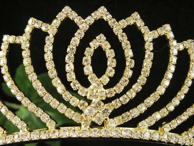 Fancy Golden Wedding Headband ;Opera Dancer Tiara;Bridesmaid Hair accessories#3080g