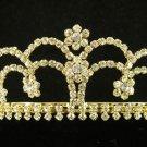 Fancy Golden Wedding Headband ;Opera Dancer Tiara;Bridesmaid Hair accessories#49g