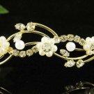 Glamour Golden Wedding Headband ;Opera Dancer Tiara;Bridesmaid Hair accessories#618g