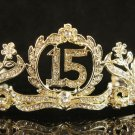 15 Glamour Birthday Headpiece ;Opera Regal;Dancer Tiara;Party Occasion Hair accessories#1290g