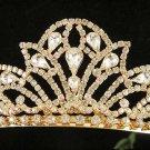 Cute sweetheart Wedding Headpiece ;Crystal Bride Regal Tiara;Party Occasion Hair accessories#238g