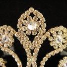 Huge Elegance Wedding Headpiece ;Crystal Bride Regal Tiara;Party Occasion Hair accessories#980g