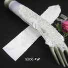 "18"" fancy finger-less ivory bridal gloves,french lace pearl wedding bride Accessories #4i"