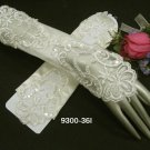 Glamour french Lace ivory bridal gloves;finger-less wedding gloves;opera;dancer Accessories #36i