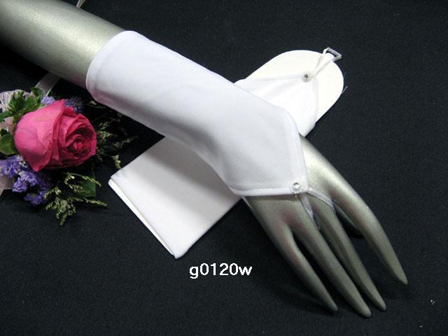 White short bridal gloves;fingerless matte wedding gloves;opera;dancer Accessories #120w