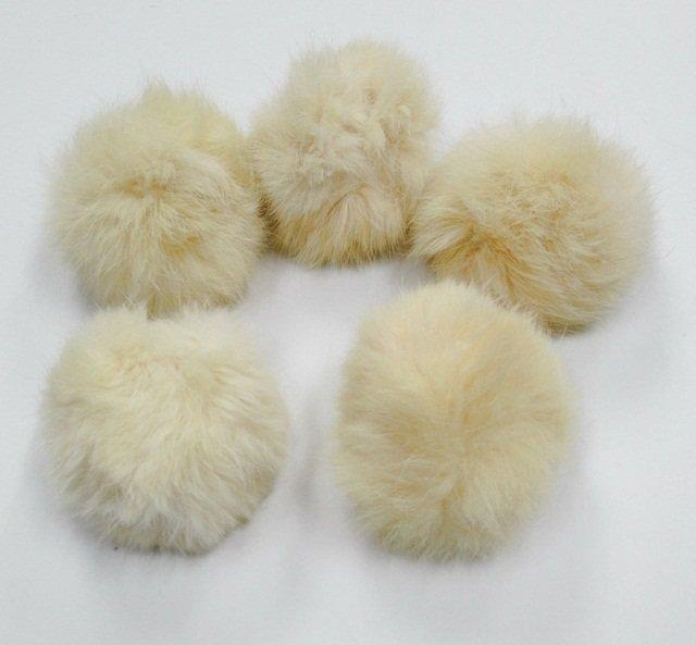 10 piece Handmade ivory Color Rabbit fur boa ; fluffy Thick Feather boa;opera accessories #FB17