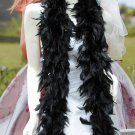 "48g 70"" montan fuzzy chandelle feather boa for dancer , decoration ,party, wedding F50"