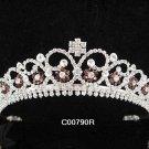 Bridesmaid imperial ;Opera Tiara;wedding regal ;bride elegance silver crystal tiara#790r
