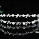 Bridesmaid Headband ;Opera Tiara;wedding regal ;bride elegance silver crystal tiara#533