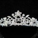 Bridesmaid Headband ;Opera Tiara;wedding regal ;bride elegance silver crystal tiara#612s