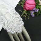 French lace wedding Gloves;bridesmaid accessories;Bride finger-less Gloves;opera accessories #36w