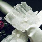 Handmade bridesmaid accessories;Bride Cute Short Gloves;wedding Gloves;opera dancer accessories #7w