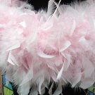 50g Feather Fringe Shawl;Coque Rooster fluffy stole; thick Marabou feather boa wrap#1p