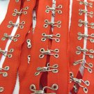 Garment Accessories;39 inch Fashion Hook and Eye Metal Buckle Tape;Sewing Notion Tool Trim #rd