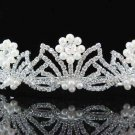 Pageant Bridal Tiara;Wedding Rhinestone Tiara;Bride Regal Tiara;Party Occasion Hair accessories#1547