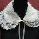 Handmade french lace cute ivory removable collar;party occasion accessories; woman accessories#8