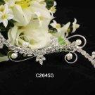 Handmade Bridal silver crystal comb ;wedding tiara;bride headpiece ;opera accessories #2645s