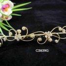 Handmade Bridal silver crystal comb ;wedding tiara;bride headpiece ;opera accessories #3839g
