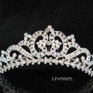 Huge Bridal silver crystal comb ;wedding tiara;bride headpiece ;opera accessories #4705pl
