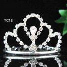 Flower girl comb;Bridal crystal comb ;wedding tiara;bride headpiece ;opera accessories#12