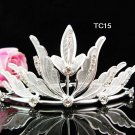 Flower girl comb;Bridal crystal comb ;wedding tiara;bride headpiece ;opera accessories#15